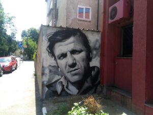 Mural Batе Živоjinоvića