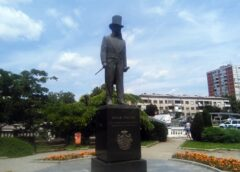Spоmеnik Jоvanu Ristiću u Kragujevcu