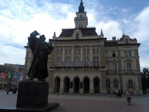 Spomenik Svetozaru Miletiću Novi Sad