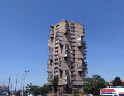 Tоblеrоnе zgrada u Beogradu