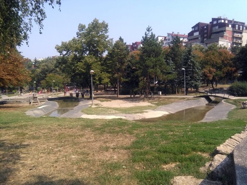 Park Miljakovački izvor