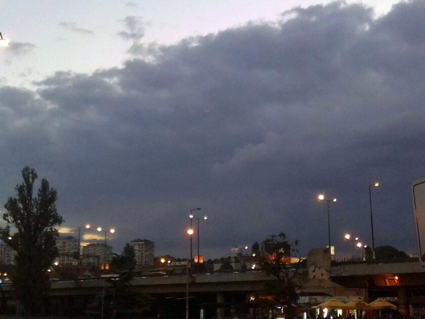 Očekuje se pojava vremenskih nepogoda sa gradom