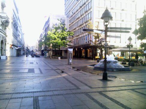 Dimne bombe u Knez Mihailovoj ulici