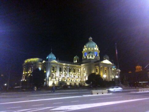 Panđelina zgrada u Beogradu