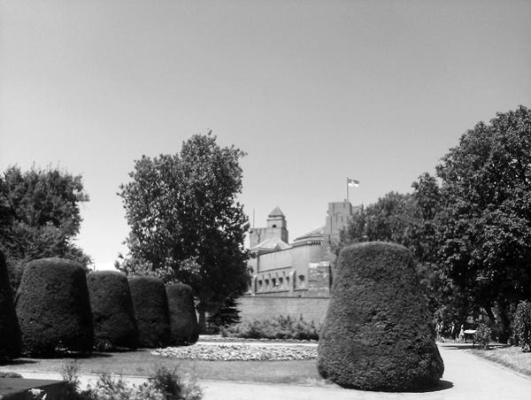 Karadjordjev spomenik na Kalemegdanu