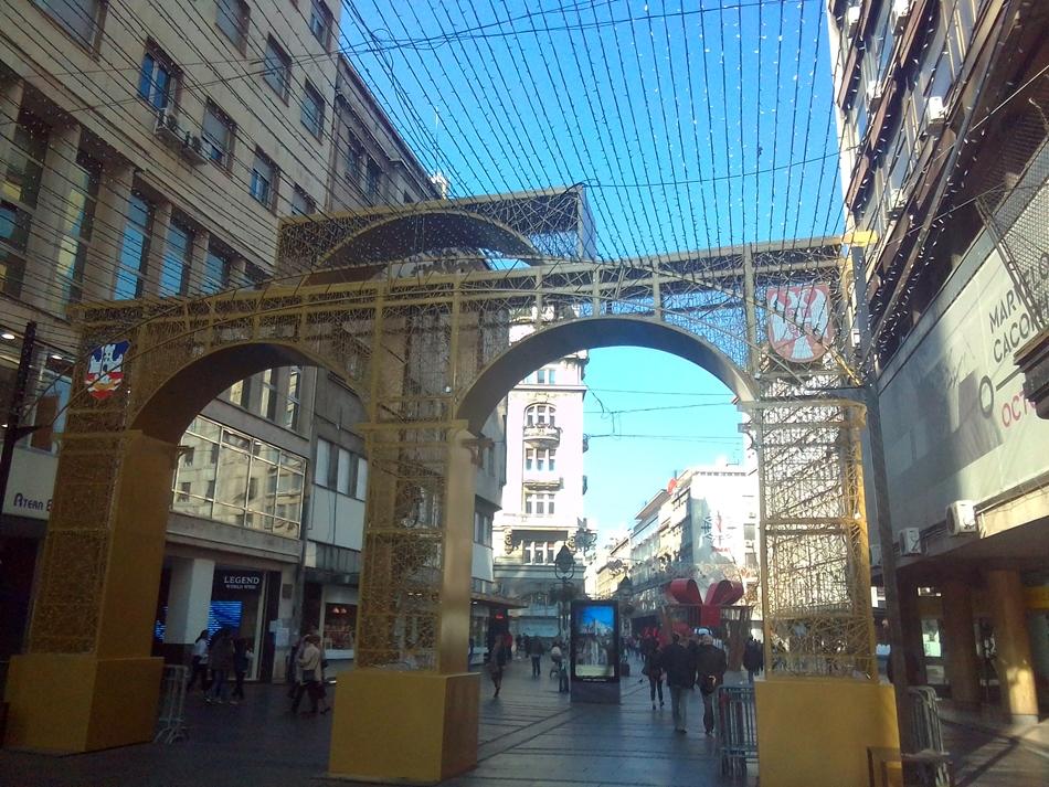 Danas će biti postavljena Kapija Beograda