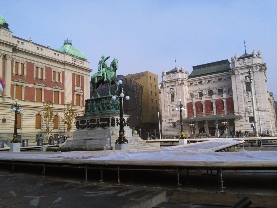 Dobro jutro Beograde! Klizanje