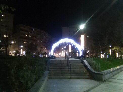 Beogradska zima i na Topličinom vencu