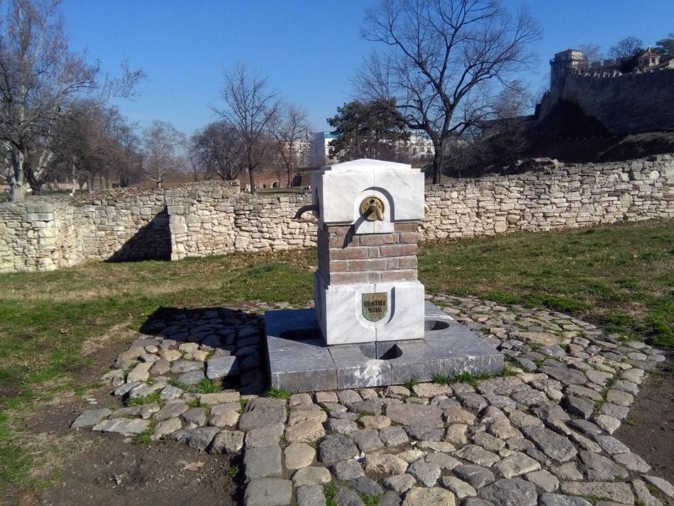 Miletova česma na Kalemegdanu