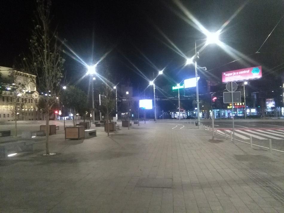 Beograd prvi dan pod policijskm časom