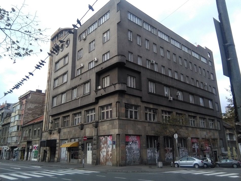 Zgrada doma železničara u Beogradu