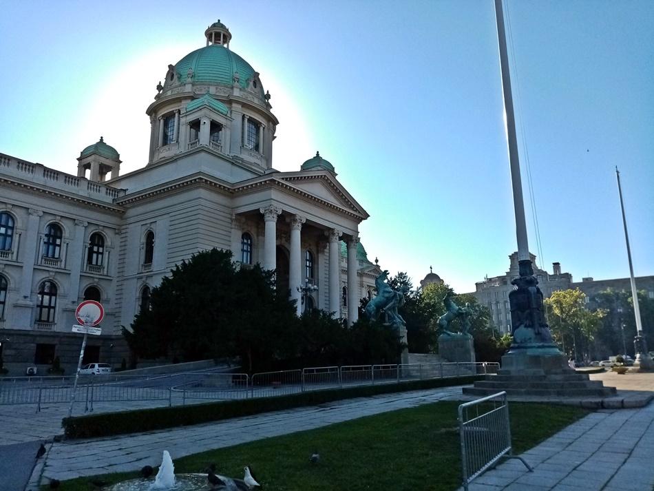 Beogradske demonstracije 9.07.