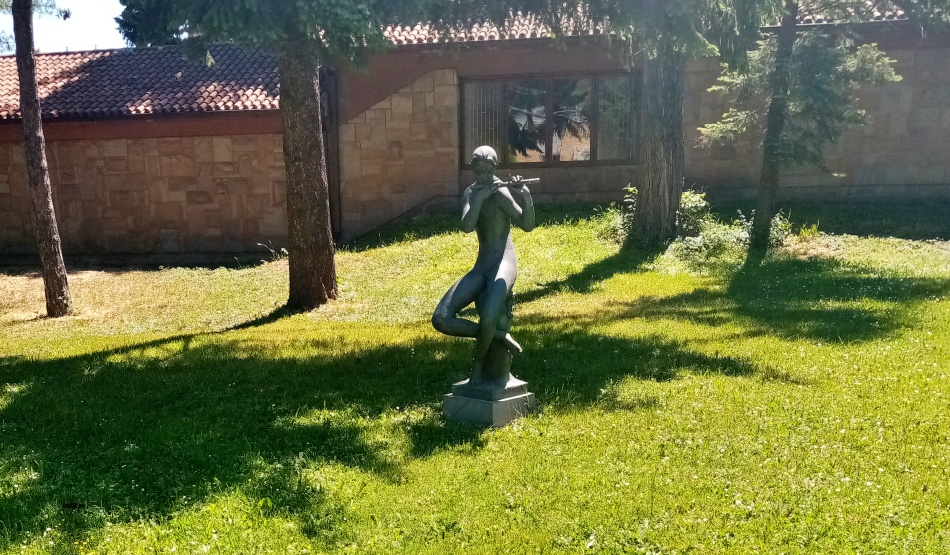 Skulptura Frulaš u Beogradu