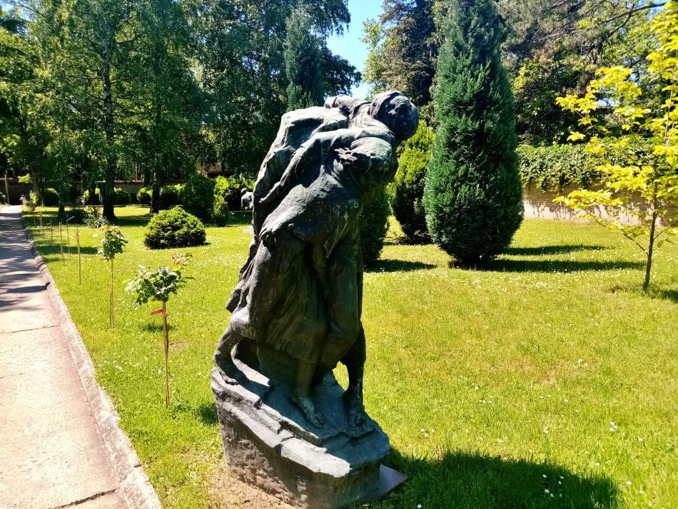 Skulptura Nošenje ratnika u Beogradu