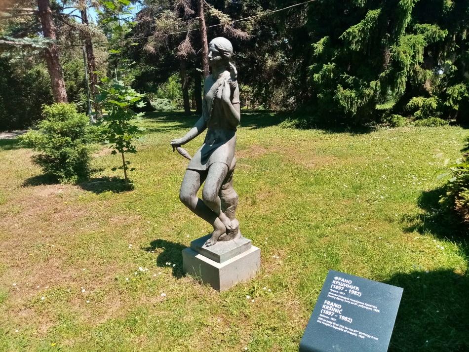 Skulptura Prelja u Beogradu
