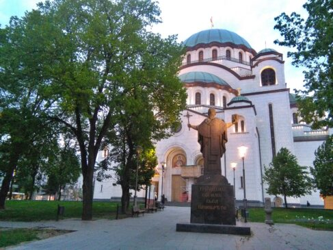 Monument to Saint Sava in Belgrade