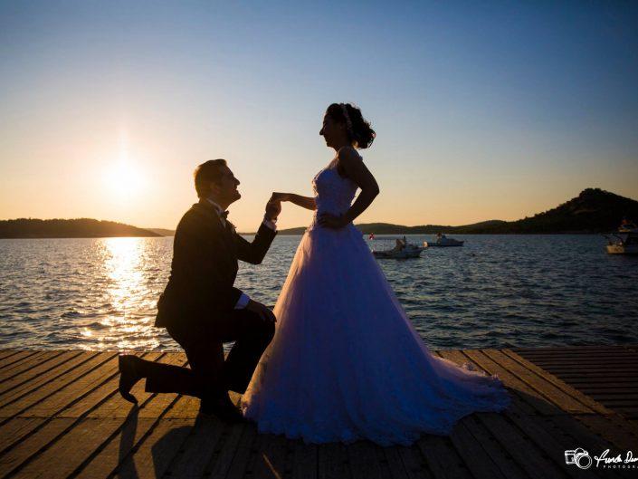 Ayvalık Cunda Düğün Fotoğrafları • Selin ve Uğur