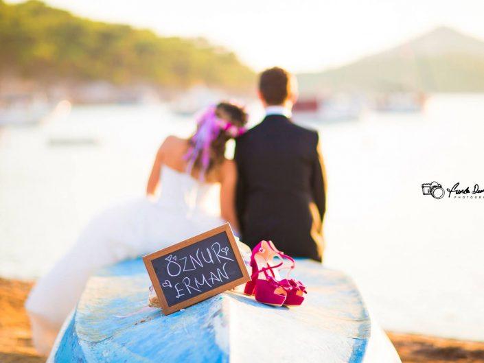 Ayvalık Cunda Düğün Fotoğrafları • Öznur ve Erman