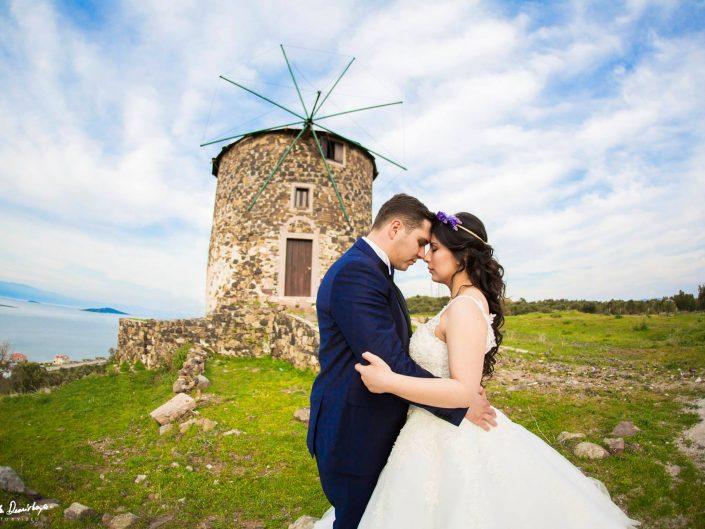 Hilal ve Burak | Cunda Düğün Fotoğrafları Mart 2017