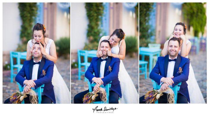 Nilay ve İsmail Ayvalık Ali bey adası Cunda düğün fotoğrafları (10)