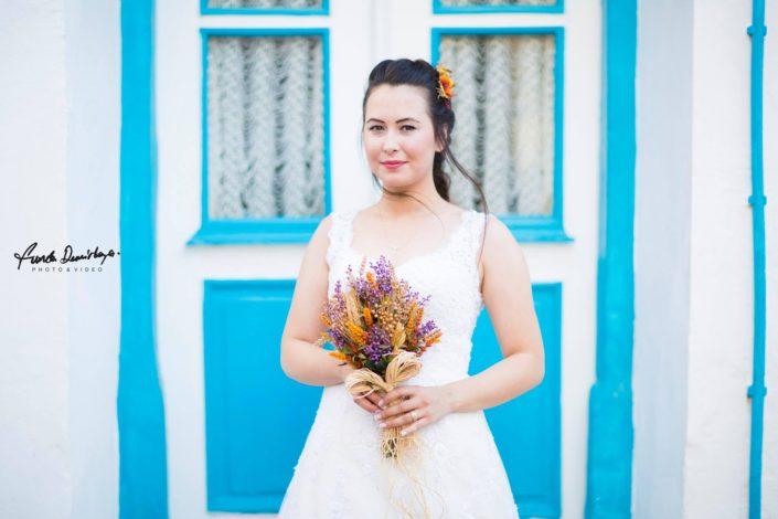 Nilay ve İsmail Ayvalık Ali bey adası Cunda düğün fotoğrafları (9)