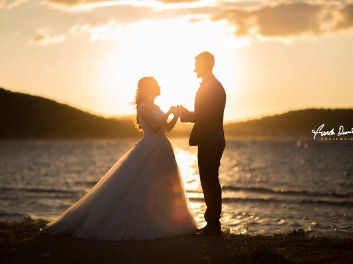 Esra ve Onur Ayvalık Cunda Düğün Fotoğrafları