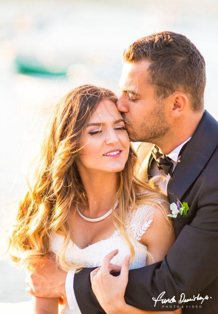 Cunda Adası Ayvalık Balıkesir dış mekan doğa katalog çekimi düğün fotoğrafları Şahika ve Ozan