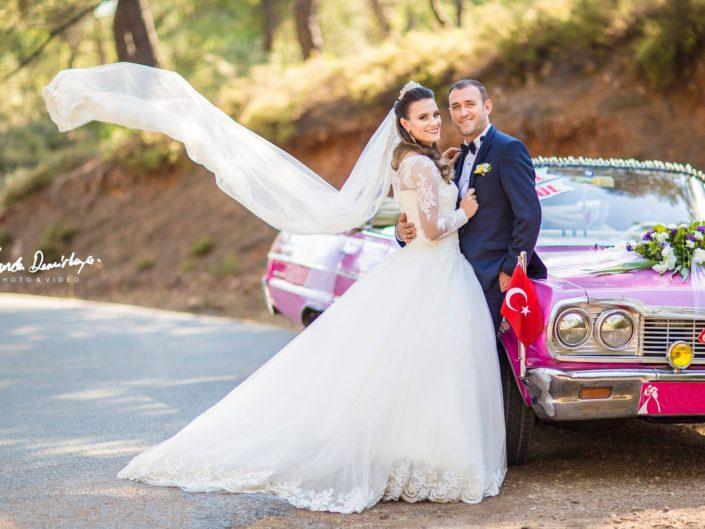 Gönül ve İsmail  Ayvalık Cunda Düğün Fotoğrafları