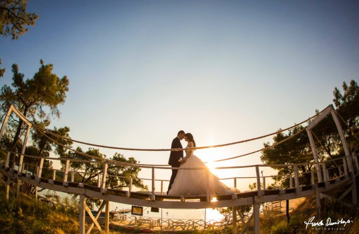 Yeşim ve Samet Cunda Pateriça Ortunç dış çekim düğün fotoğrafları