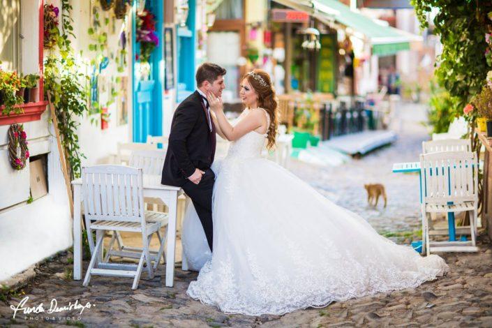 Suna ve Kağan Cunda Ayvalık Düğün Fotoğrafları