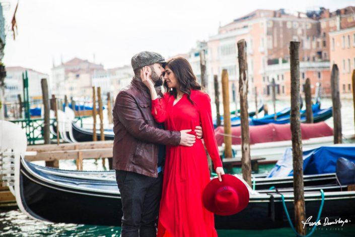 Elif ve Luca Venedik İtalya Yurtdışı Save The Date fotoğrafları (11)