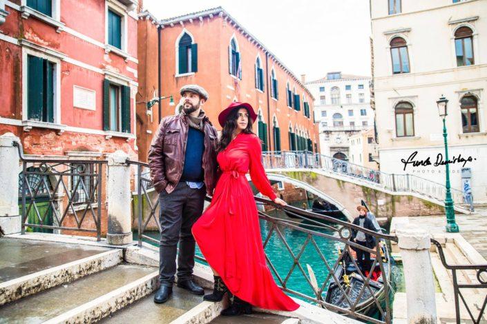 Elif ve Luca Venedik İtalya Yurtdışı Save The Date fotoğrafları (14)