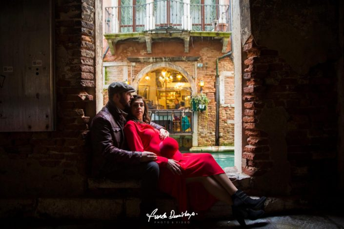 Elif ve Luca Venedik İtalya Yurtdışı Save The Date fotoğrafları (20)