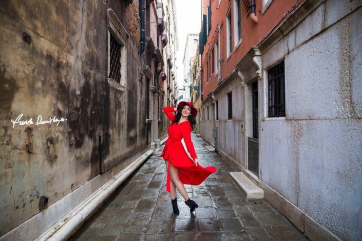 Elif ve Luca Venedik İtalya Yurtdışı Save The Date fotoğrafları (5)