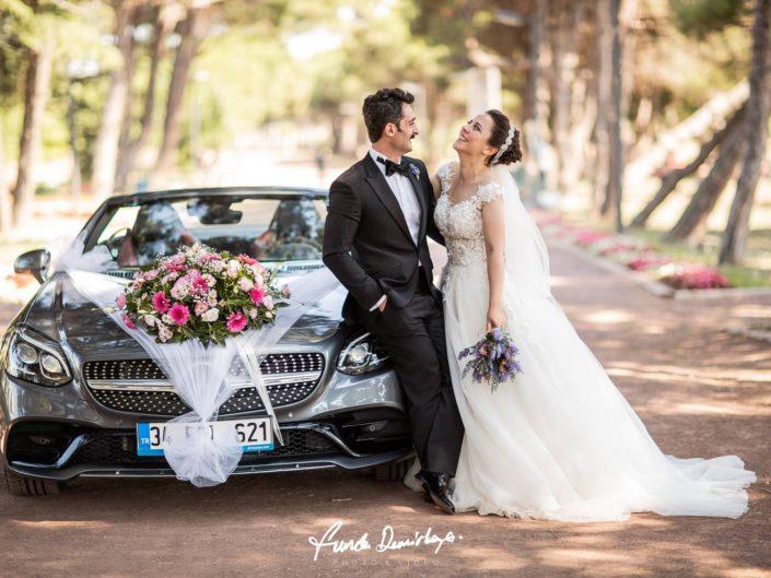 Nazan ve İhsan Bandırma Düğün Fotoğrafçısı Funda Demirkaya Dış Çekim Düğün Fotoğrafları