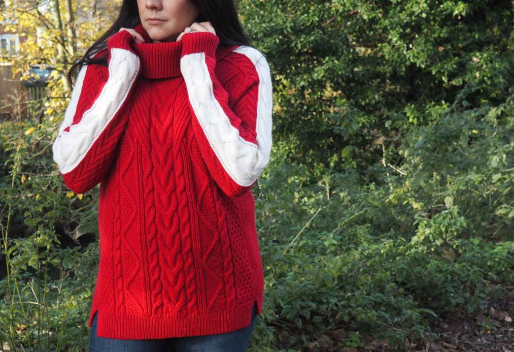 Mummy must-have: Cable Knit www.styleandsubstance.uk