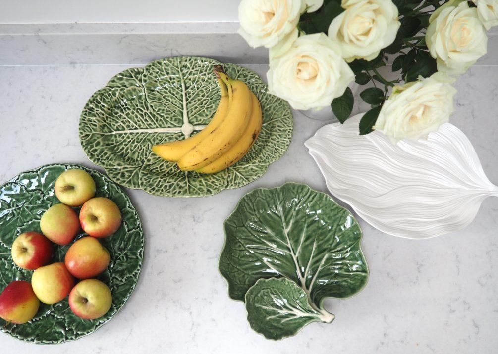 Food-inspired tableware www.styleandsubstance.uk