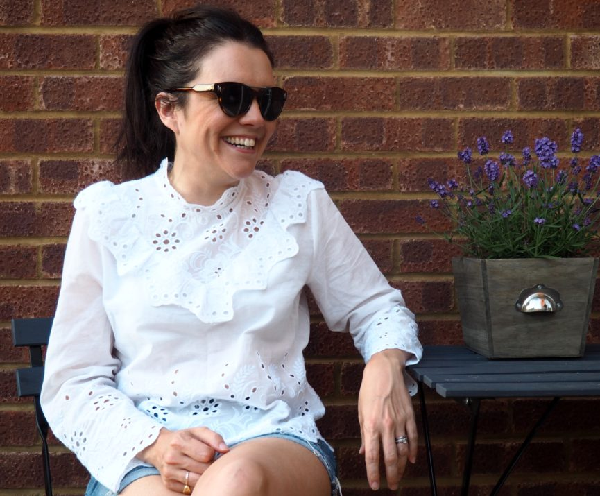 The Broderie Blouse www.styleandsubstance.uk
