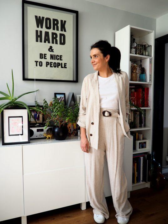 Style: 4 ways to wear linen www.styleandsubstance.uk