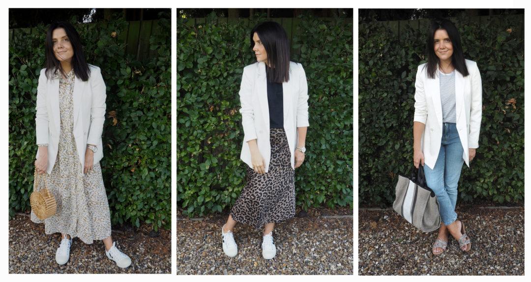 3 Ways to Wear a Blazer www.styleandsubstance.uk