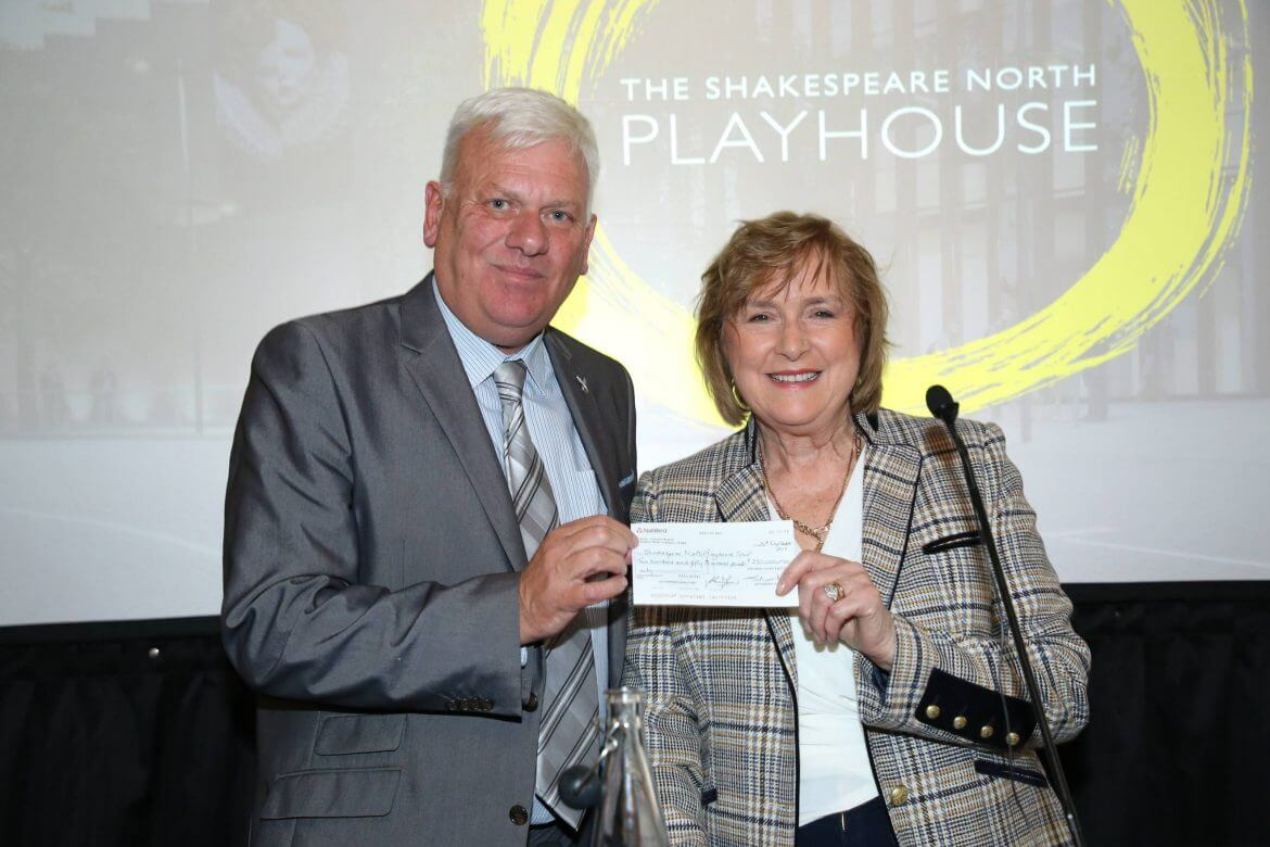 VIPs attend the launch event of the Shakespeare North Playhouse vision