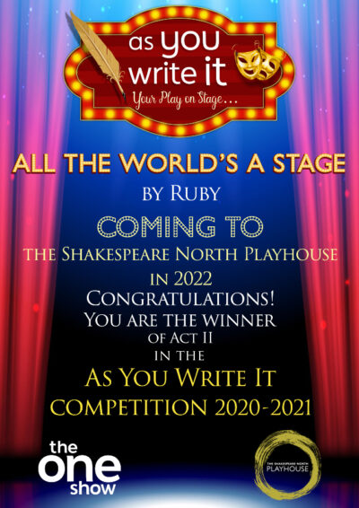 Certificate presented to winner of As You Write It Competition Ruby