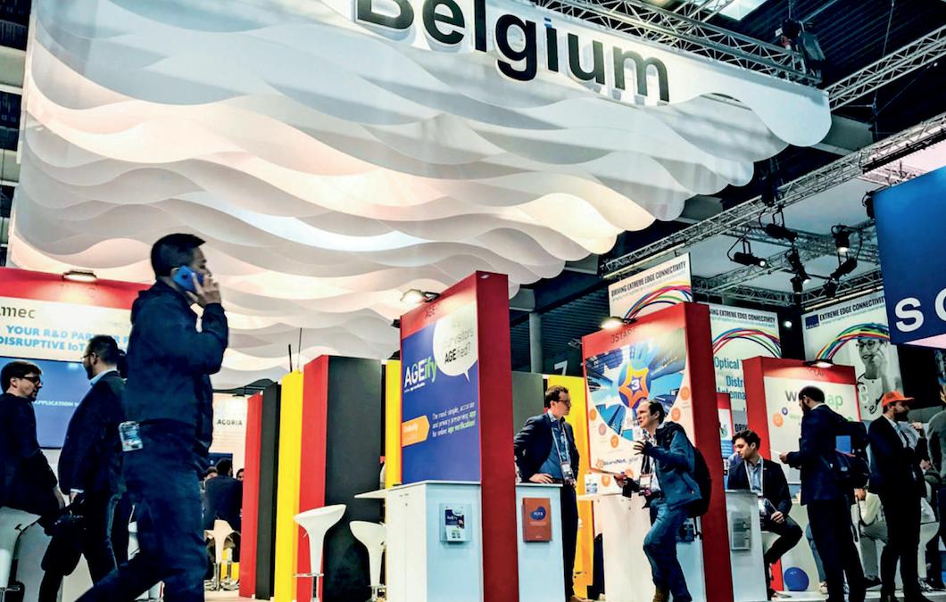 La Belgique expose ses pépites à la grand-messe des télécoms de Barcelone