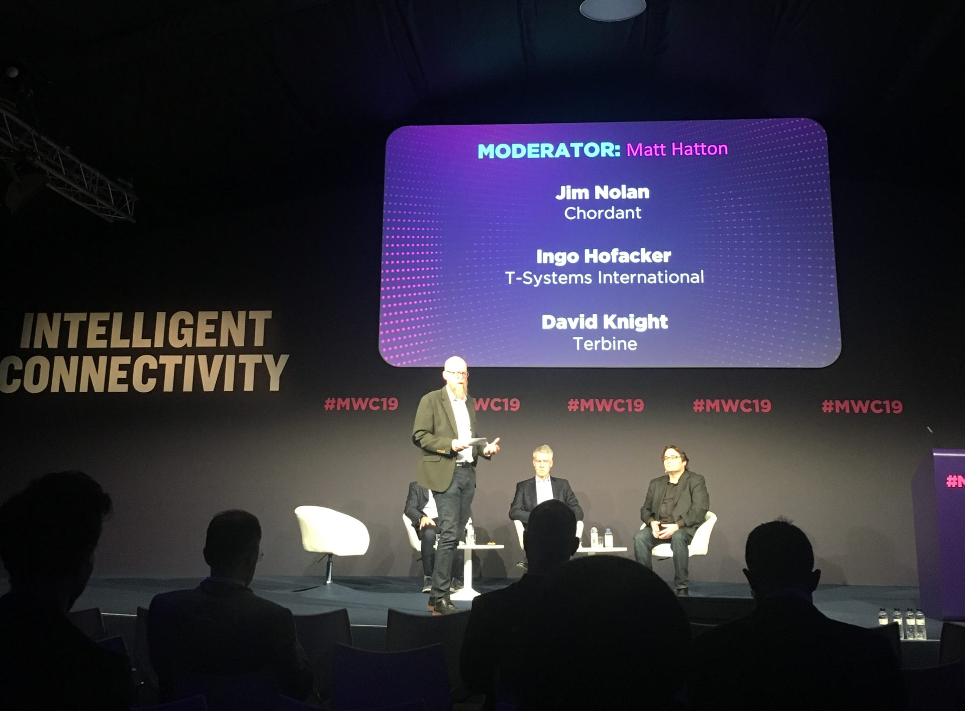 Key note speaker during MWC
