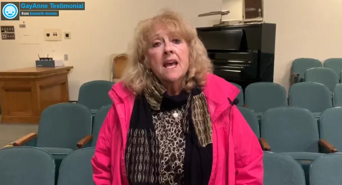 GayAnne Testimonial