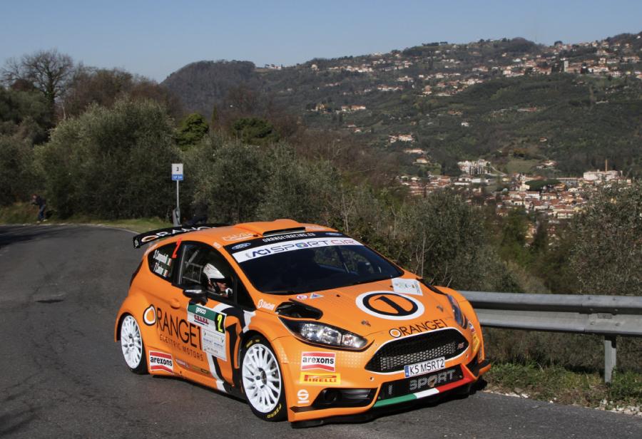Orange1 Racing e Campedelli iniziano con un gran secondo posto