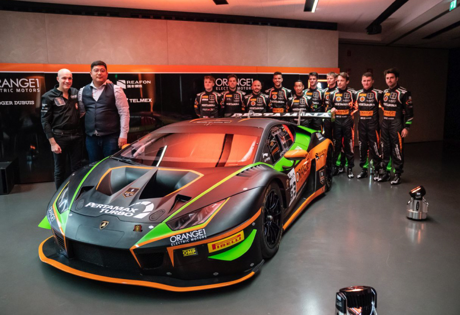 Orange1 FFF Racing in Europa per dare l'assalto alla Blancpain GT Series con Lamborghini