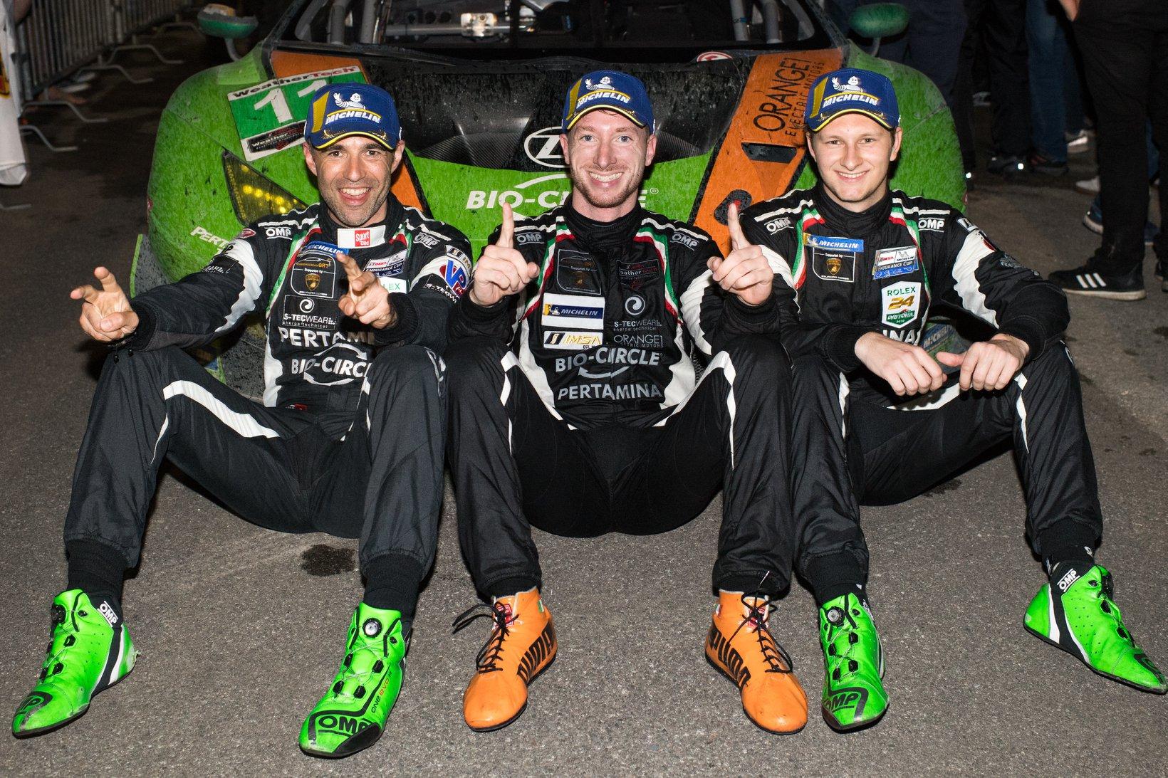 ORANGE1 TEAM GRT with sensational win in 12 hours of Sebring
