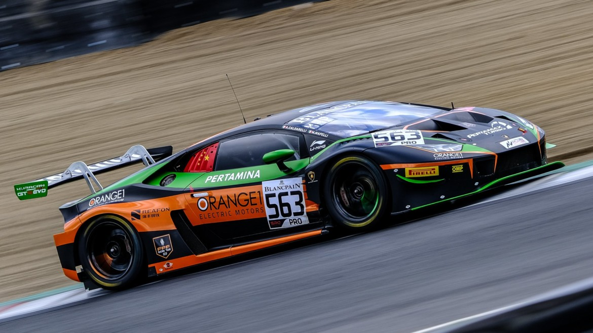 ORANGE1 FFF Racing Team by ACM prepared for Misano round