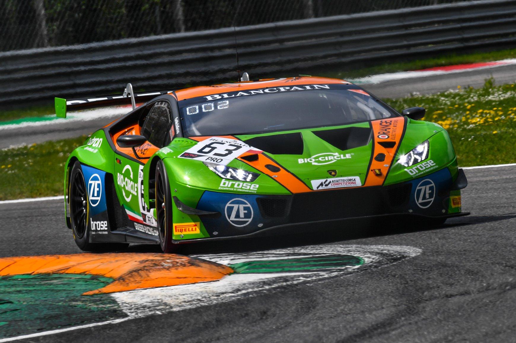 Roller-Coaster of emotions for Orange1 Team GRT at Monza